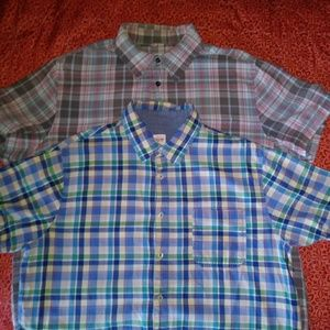LOT OF (2) MOSSIMO BUTTON DOWNS